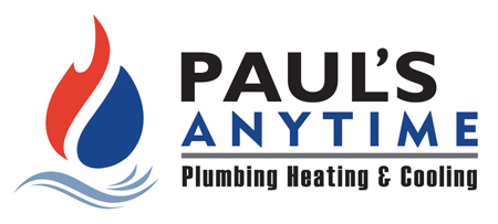 Paul's Anytime, Plumbing, Heating & Cooling logo
